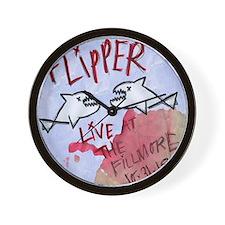 Flipper Live at the Fillmore Album Cove Wall Clock