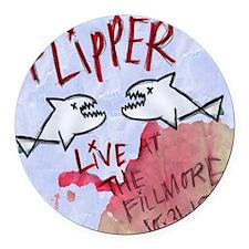 Flipper Live at the Fillmore Albu Round Car Magnet