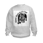 Happy April Fool's Day Kids Sweatshirt