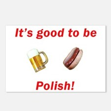 Good to be Polish Postcards (Package of 8)