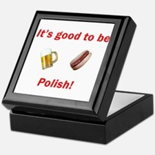 Good to be Polish Keepsake Box