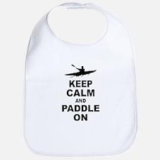 Keep Calm and Paddle On Bib