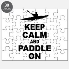 Keep Calm and Paddle On Puzzle