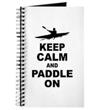 Keep Calm and Paddle On Journal