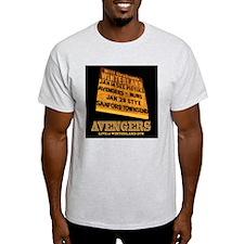 AVENGERS - Live at Winterland Album  T-Shirt