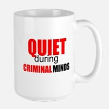 Quiet During Criminal Minds Mugs