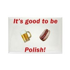 Good to be Polish Rectangle Magnet (100 pack)
