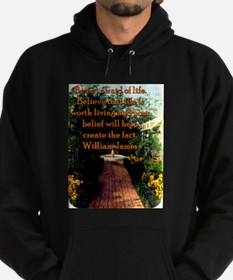 Be Not Afraid Of Life - William James Sweatshirt