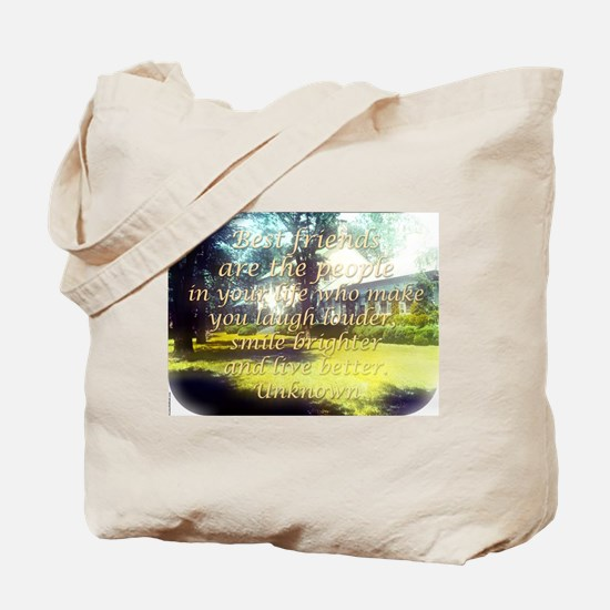 Best Friends Are The People - Unknown Tote Bag