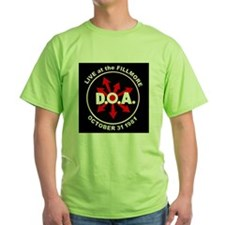 DOA Live at the Fillmore Album Cover T-Shirt