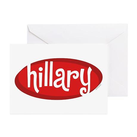 Retro Hillary Greeting Cards (Pk of 10)