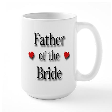 Father of the Bride #2 Large Mug