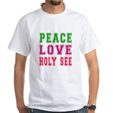 Peace Love Holy See Shirt