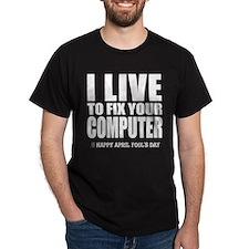 April Fools: Computer T-Shirt
