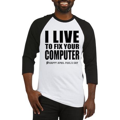 April Fools: Computer Baseball Jersey