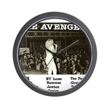 Tribute to The Avengers Punk Rock Album Wall Clock