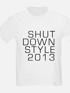 SHUTDOWN STYLE 2013 T-Shirt