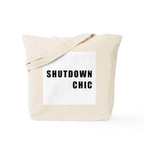 SHUTDOWN CHIC Tote Bag