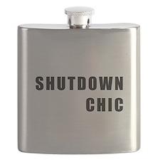 SHUTDOWN CHIC Flask
