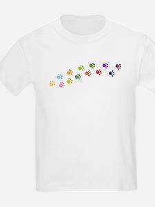 Paw Prints Kids T-Shirt