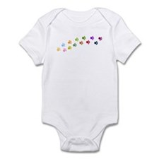 Paw Prints Infant Bodysuit