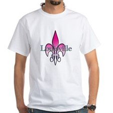 Pink Fleur de Lis Louisville Shirt