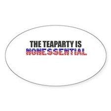 The Teaparty is Nonessential Shutdown Decal