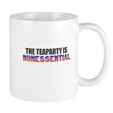 The Teaparty is Nonessential Shutdown Mugs