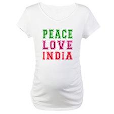 Peace Love India Shirt