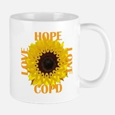 COPD Hope Sunflower Mugs