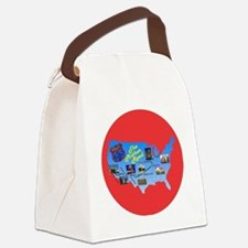 The Mother Road Canvas Lunch Bag