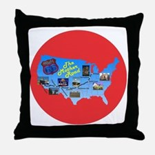 The Mother Road Throw Pillow