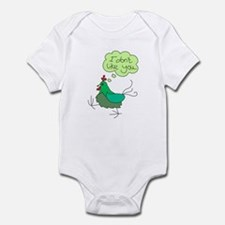 Angry Chicken Infant Bodysuit