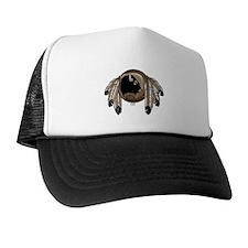 Native Art Trucker Hat First Nations Wildlife Art