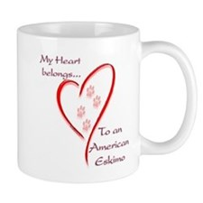 Eskimo Dog Heart Belongs Mug
