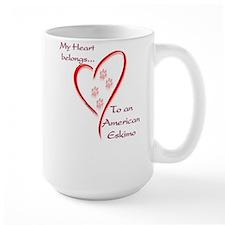 Eskimo Dog Heart Belongs Mug