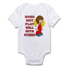 Does Not Play Well With Other Infant Bodysuit