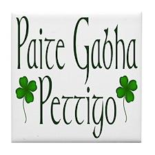Pettigo (Gaelic/English) Tile Coaster