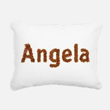Angela Fall Leaves Rectangular Canvas Pillow
