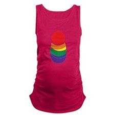 Rainbow Baby Red Maternity Tank Top