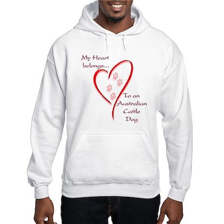 ACD Heart Belongs Hooded Sweatshirt