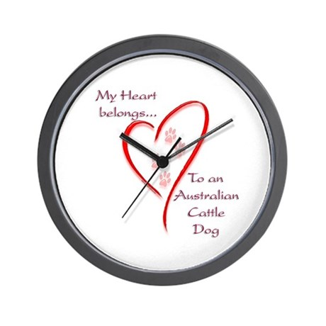 ACD Heart Belongs Wall Clock