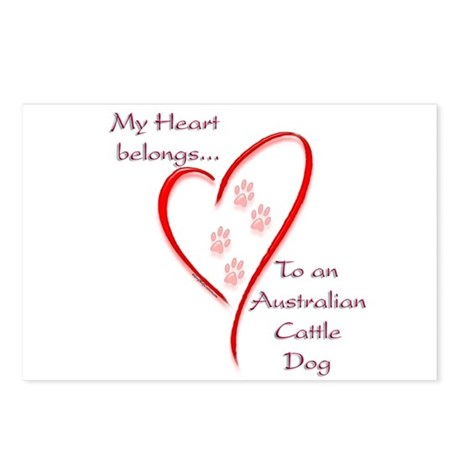 ACD Heart Belongs Postcards (Package of 8)
