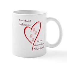 Aussie Heart Belongs Mug