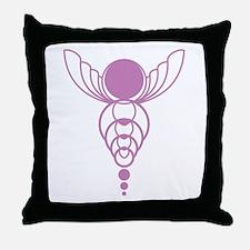 Unique Crop circles Throw Pillow