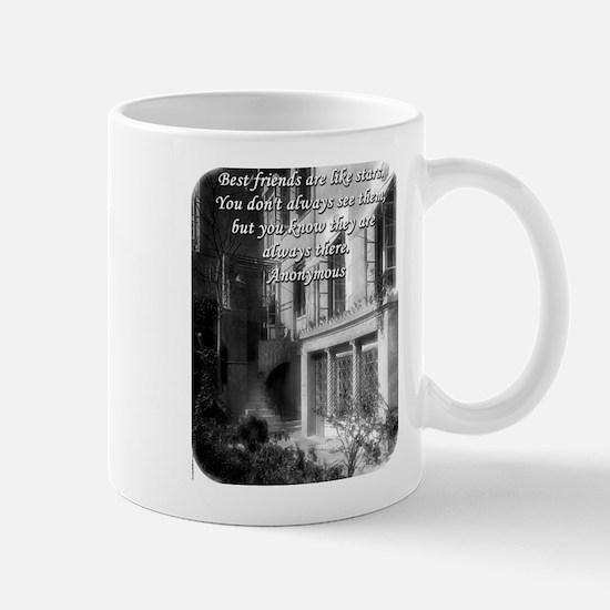 Best Friends Are Like Stars - Anonymous Mug