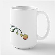 DNA Crop Circle Large Mug