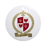 GUILLORY Family Crest Ornament (Round)