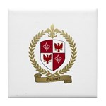 GUILLORY Family Crest Tile Coaster