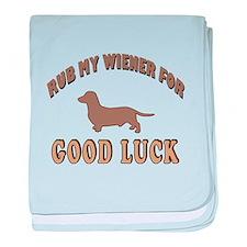 Rub My Wiener baby blanket
